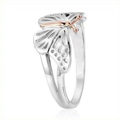Clogau butterfly ring