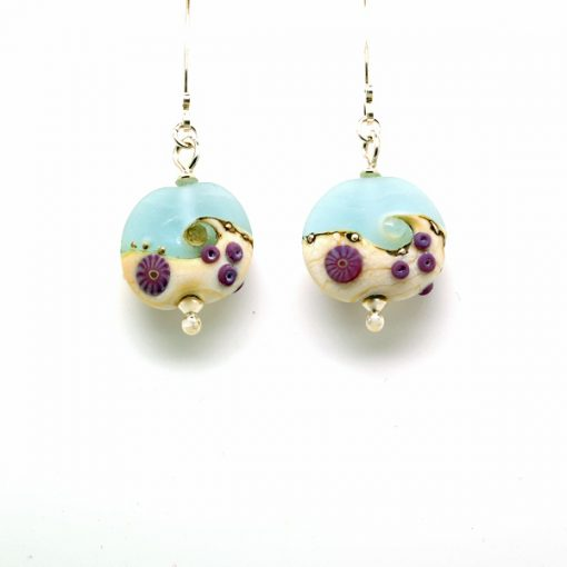 Beach Art earrings